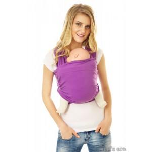 Слинг-шарф трикотажный «Аметист», фиолет.