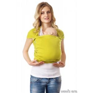 Слинг-шарф трикотажный «Лайм», зел.