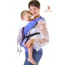 Эргономичный слинг-рюкзак Комфорт ШАПИТО сиреневый (тодлер)