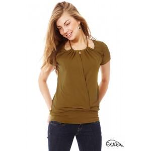 """Блуза для кормл. """"Лада"""", горчичная, кор.рук., р. L"""