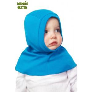 """Шлем детский, трикотаж, """"Бирюзовый"""", 1-2 года"""
