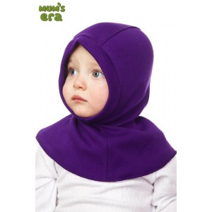 """Шлем детский, трикотаж, """"Сиреневый"""", 2-3 года"""