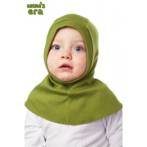 """Шлем детский, трикотаж, """"Травяной"""", 0-1 год"""