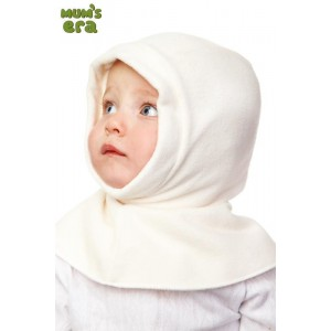 """Шлем детский, флис.,""""Молочный"""",  0-1 год"""