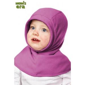 """Шлем детский флисовый, """"Георгин"""", 1-2 года"""