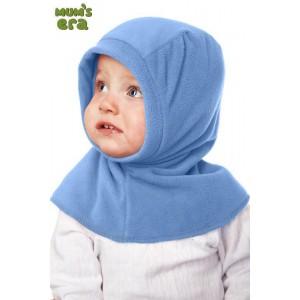 """Шлем детский флисовый, """"Голубой"""", 0-1 год"""
