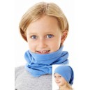 Повязка-труба детская, голубая