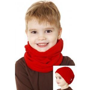 Повязка-труба детская, красная