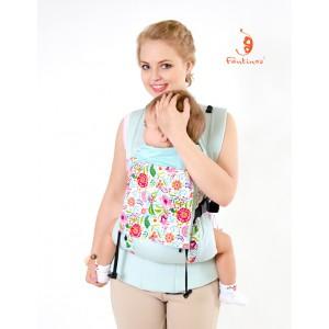 Эргономичный слинг-рюкзак облегченный (без кармана) ТИЛИ-МИЛИ-ТРЯМ Комфорт